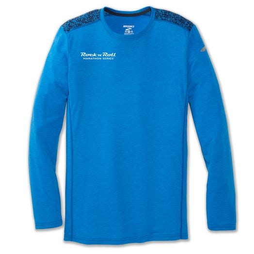 ROCK N ROLL MARATHON SERIES MEN'S LONG SLEEVE TEE