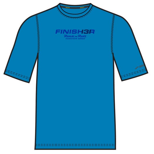 ROCK N ROLL MARATHON SERIES MEN'S FINISHER 13.1 SHORT SLEEVE TEE