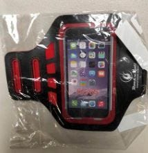 ROCK N ROLL MARATHON SERIES PHONE Armband BLK/RED