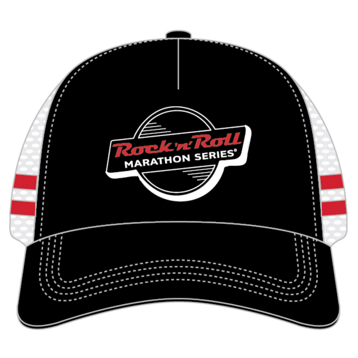 ROCK N ROLL MARATHON SERIES RETRO TRUCKER