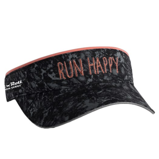 ROCK N ROLL MARATHON SERIES RUN HAPPY CHASER VISOR