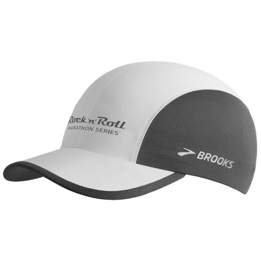 Run-Thru Hat White/Asphalt