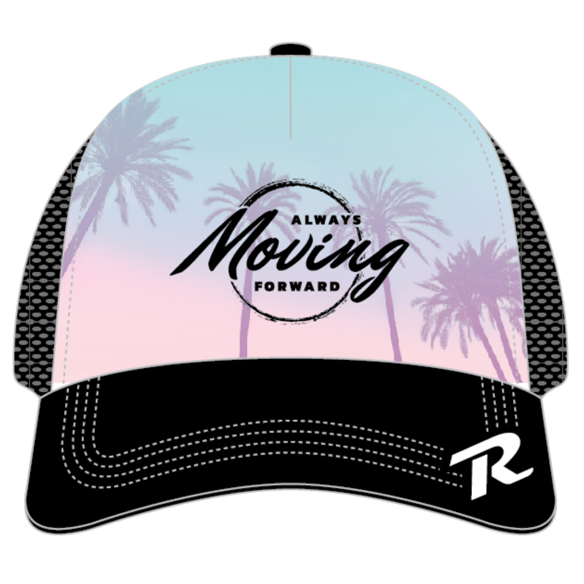 ROCK N ROLL MARATHON SERIES SCAPE TRUCKER
