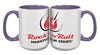 ROCK N ROLL MARATHON SERIES LOGO MUG PURPLE