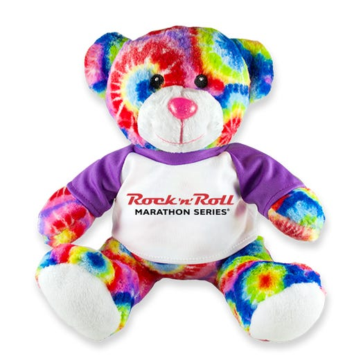 ROCK N ROLL MARATHON SERIES TIE DYE BEAR