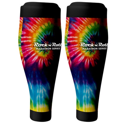 ROCK N ROLL MARATHON SERIES TIE DYE CALF SLEEVE