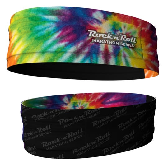ROCK N ROLL MARATHON SERIES TIE DYE FREEBELT