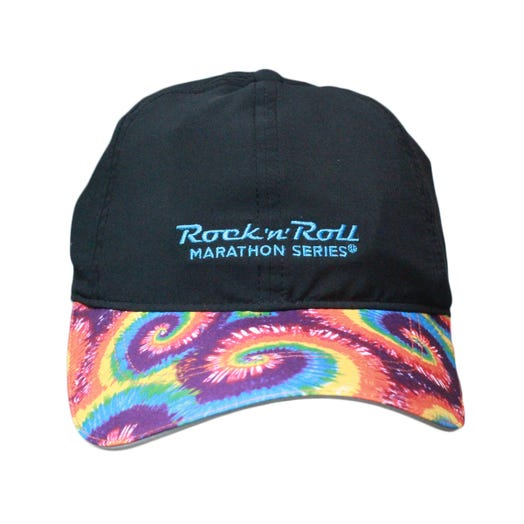 ROCK N ROLL MARATHON SERIES TIE DYE SHERPA HAT