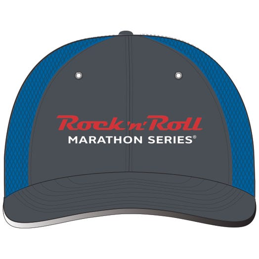 ROCK N ROLL MARATHON SERIES RUN TRUCKER HAT