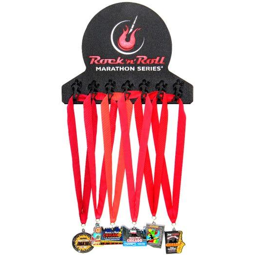 Rock n Roll Marathon Series Medal Hanger - Guitar logo