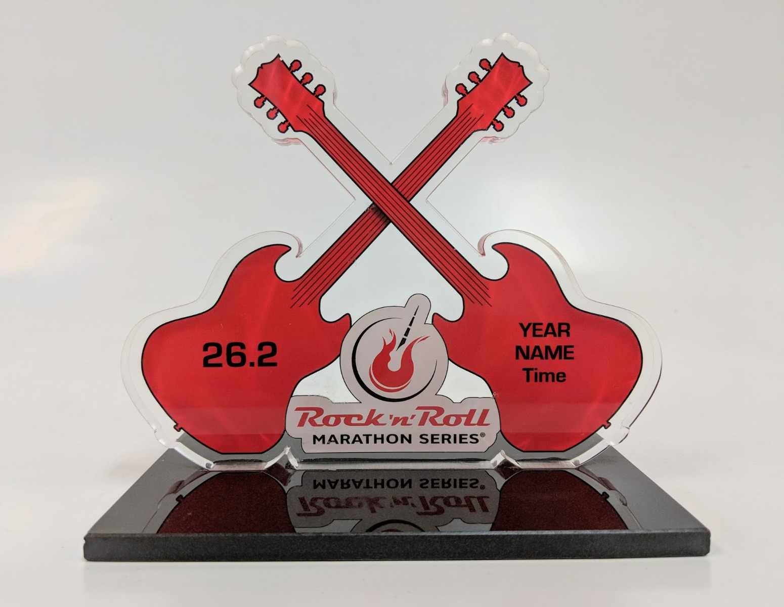 Rock 'n' Roll Marathon Series Finisher Trophy