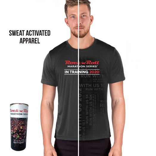 Rock 'n' Roll Marathon Series Men's 2020 Sweat-Activated In-Training Shirt
