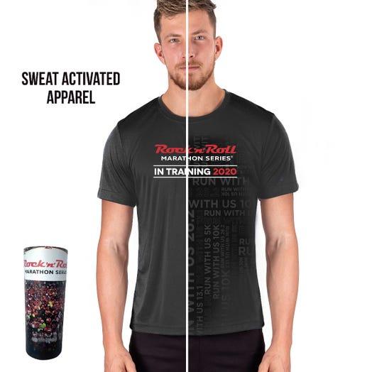 Rock 'n' Roll Marathon Series Men's 2020 Sweat-Activated In-Training Shirt