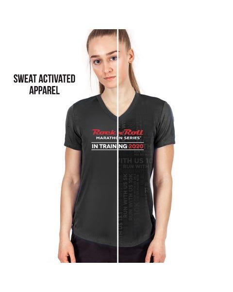 Rock 'n' Roll Marathon Series Women's 2020 Sweat-Activated In-Training Shirt