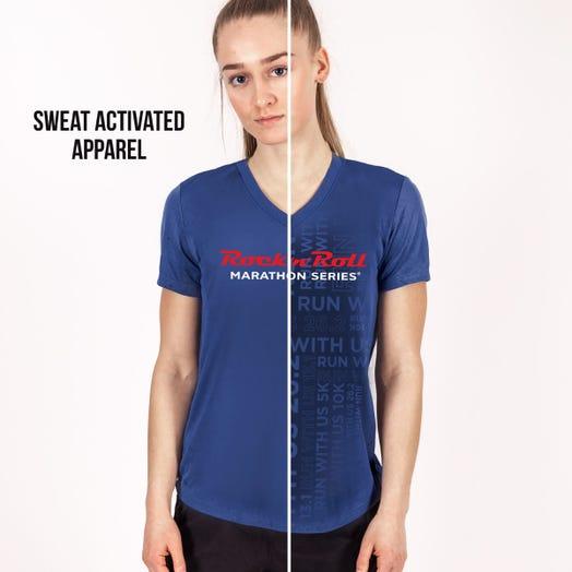 Rock 'n' Roll Marathon Series Women's Sweat-Activated In-Training Shirt