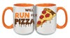 ROCK N ROLL MARATHON SERIES WILL RUN FOR PIZZA MUG
