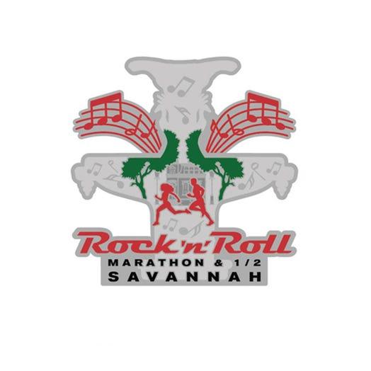 ROCK N ROLL MARATHON SERIES SAVANNAH 2019 EVENT MINI MEDAL MAGNET