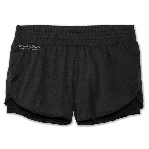 "ROCK N ROLL MARATHON SERIES WOMEN'S 3"" REP 2-IN-1 SHORT"