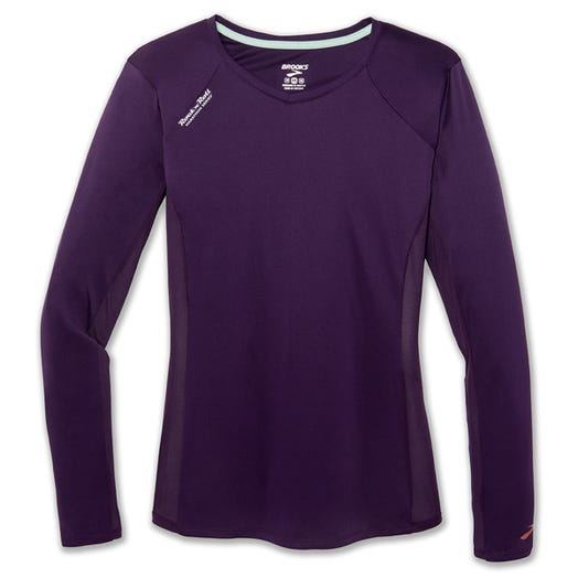 ROCK N ROLL MARATHON SERIES WOMEN'S STEALTH LONG SLEEVE TEE