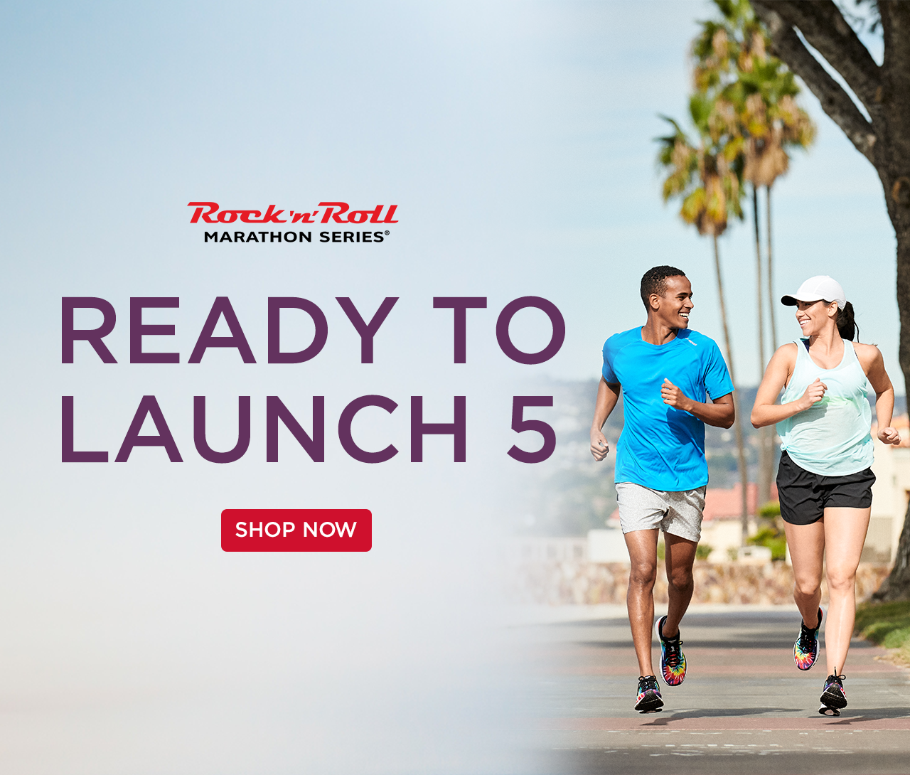 READY TO LAUNCH - RUN IN THE BROOKS LAUNCH 5